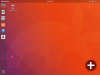 Desktop von Ubuntu