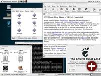 Portierte GNOME-Umgebung auf GNU/Hurd