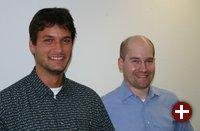 Christian Meyer (Stellv. Vorsitzender) und Frank Rehberger (Vorsitzender)