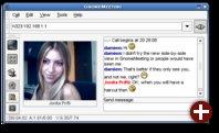 Screenshot eines Videochats