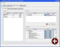Filesharing-Übersicht in gnunet-qt