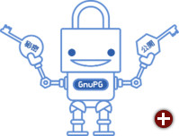 Edward, der freundliche E-Mail-Roboter, hilft bei der Verschlüsselung
