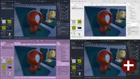Godot 3.0 - Editor-Themen