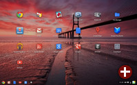 Google Chrome OS mit Aura Window Manager