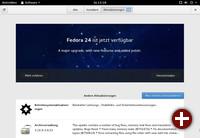 Grafische Aktualisierung in Fedora