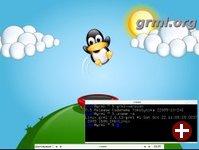 Desktop von grml 0.5