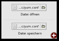 Dateiwahlknöpfe