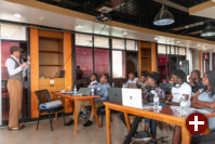 Hackathon zu Deep Speech und Common Voice in Kigali