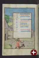Handschrift aus der Herzog August Bibliothek Wolfenbüttel