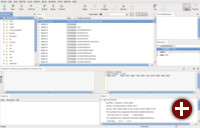 Hauptbildschirm von SmartGit/Hg 5