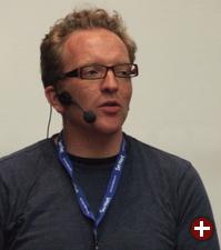 Dirk Hohndel bei der Endnote