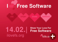 I love Free Software Day 2016