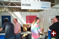 ifrOSS informiert unter anderem über Software-Patente.