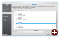 Im Installer Ubiquity von Kubuntu 13.10 lässt sich jetzt auch WLAN nutzen