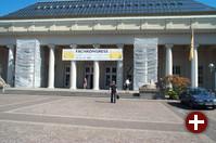 In der Stadthalle, gegenüber der Schwarzwaldhalle, fanden die meisten Vorträge statt.