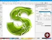 Möglichkeiten der Spiralpfade in Inkscape 0.47