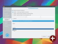 Installation von Kubuntu 15.10: Auswahl der Installationsart