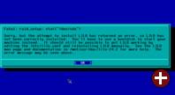 LILO-Fehler in virtueller Maschine