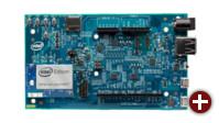 Intel Edison mit Arduino Breakout Board