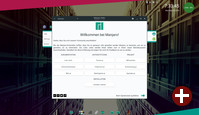 Jade Desktop - Der erste Start