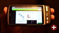 Java2Demo unter Android 2.2 auf HTC-Smartphone
