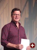 Jim Zemlin bei der Eröffnung