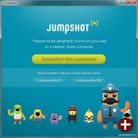 Jumpshot-Oberfläche