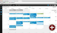 Kalender-Komponente der OX App Suite