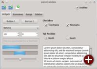 Ein mit Qt 5 realisiertes Projekt unter KDE