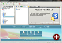 KDE-Brennapplikation K3b