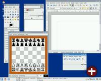 KDE-Desktop von Debian 5.0