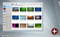 KDE SC 4.8 mit Dolphin