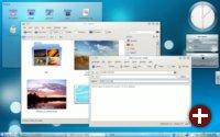 Desktop von KDE 4.3
