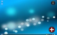 KDE 4.2 - aufgeräumter Desktop