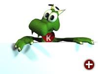 KDEs Maskottchen