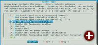 Kernel konfigurieren: Der RK-3066-Kernel ist bereits für den Minix Neo X5 vorkonfiguriert. Bei Bedarf können Sie aber über sudo make menuconfig Änderungen vornehmen