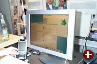 KitchenSync, das neue Synchronisations-Framework für KDE 3.1, in Aktion bei der Synchronisation mit einem Compaq iPAQ