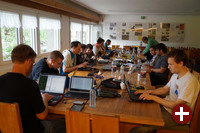 Knapp knapp 40 KDE-Entwickler trafen sich in diesem Jahr in Randa, um aktuelle Themen zu anzugehen.