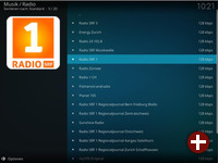 Kodi Radio-Plugin in AVMultimedia