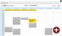 Kolab 3.3: Calendar Quickview