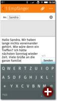 Kommunikation per SMS