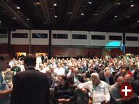 Konferenzsaal kurz vor der Eröffnung der Susecon