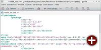 Konfigurationsdatei von Lesslinux
