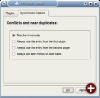 Auflösen von Konflikten