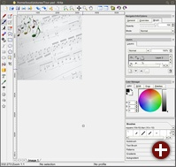 Krita - neue Applikation zur Bildbearbeitung und zum Zeichnen