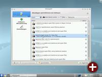 Kubuntu 10.04 mit KPackageKit