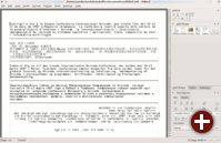 Mehrsprachige Textbearbeitung in KWord
