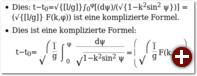 Mathematische Formeln werden mit Sonderzeichen gestaltet