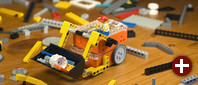 Lego-kompatibler Roboter Edison