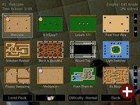 Enigma kommt bereits mit einer Vielzahl von Levels